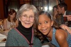 Emmanuelle Riva (Amour) and Quvenzhané Wallis (Beasts of the Southern Wild)