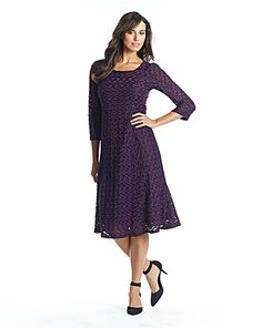 Textured Fabric Fit And Flare Dress Plus Size Dresses, Dresses For Work, Skater Dress, Bodycon Dress, Stunning Summer, Summer Maxi, My Wardrobe, Flare Dress, Fit And Flare