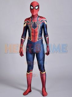 This is the newest Iron Spider-Man suit revealed at the end of the film Spider-Man Homecoming. Iron Spider Costume, Iron Spider Suit, Stealth Suit, Mens Suits, Sketching, Homecoming, Wetsuit, Spiderman, Geek