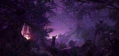 purple forest hd 1800p rain reddit