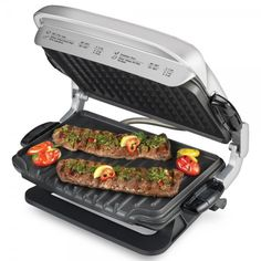 I like the GRP4EP George Foreman, but how does it compare to the newer 2-in-1 and 4-in-1 models? Learn more on Grillfaqs! http://grillfaqs.com/george-foreman-grp4ep-platinum-evolve-grill-review/