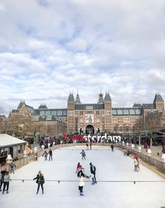 Amsterdam , Ice Skating in Winter Greek Girl, Cozy Cafe, Visit Amsterdam, Central Station, Ice Skating, World Heritage Sites, Adventure Travel, The Neighbourhood, Beautiful Places
