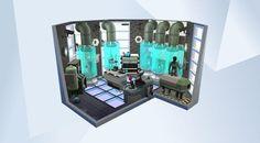 Sieh dir dieses Zimmer in der Die Sims 4-Galerie an! - #Alienhaus Willst Du wissen, wo die ganzen Aliens herkommen?
