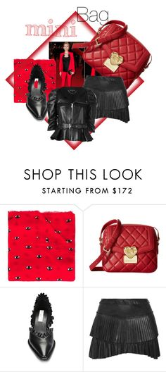 """""""Love my mini bag"""" by villadybendal ❤ liked on Polyvore featuring Michael Kors, Kenzo, Love Moschino, STELLA McCARTNEY, Isabel Marant and Alexander McQueen"""