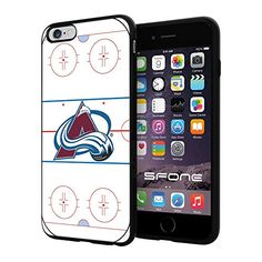 """Colorado Avalanche Rink Ice #2077 iPhone 6 Plus (5.5"""") I6+ Case Protection Scratch Proof Soft Case Cover Protector SURIYAN http://www.amazon.com/dp/B00X5JHG5U/ref=cm_sw_r_pi_dp_oujwvb087QKJF"""