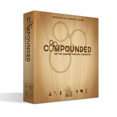 If you can collect elements, build compounds quickly and safely, and work well with your fellow lab partners, you can win Compounded, a highly-detailed chemistry lab board game. Just keep the fire extinguisher handy!
