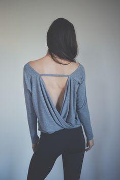 Hanley Long Sleeve in Heather http://www.montiel.com/products/hanley-long-sleeve-in-heather-grey