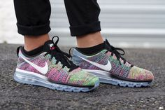 NIKE FLYKNIT AIR MAX MULTICOLOR