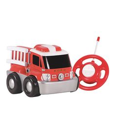 Take a look at this My First RC Go Go Remote Control Fire Truck by Kid Galaxy on #zulily today! $19 !!