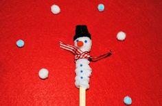 Snowman Christmas craft: how to make a snowman pencil topper - goodtoknow