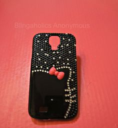 Hello Kitty Samsung Galaxy S4 Bling Case by BlingaholicAnonymous $36.99