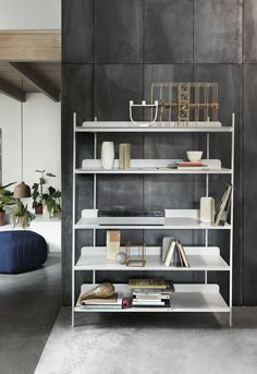 Compile Shelving System designed by Cecilie Manz for Muuto #muuto
