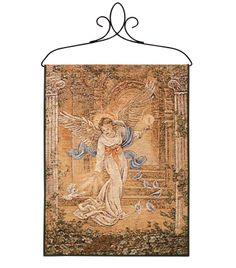 Angel of Light Tapestry Bannerette Wall Hanging