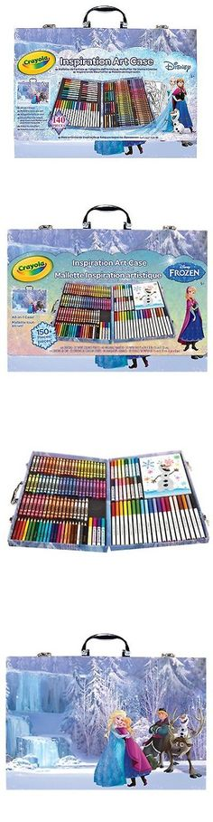 Markers and Crayons 102951: School Supplies Crayola Frozen Coloring Art Case Kids Children Girls Boys 140Pcs -> BUY IT NOW ONLY: $41.59 on eBay!