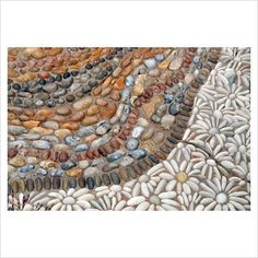 GAP Photos - Garden & Plant Picture Library - Decorative pebble paving - GAP Photos - Specialising in horticultural photography