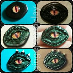 Here the dragon eye pictutorial/WIP pictures. Any questions ask here it send a privet chat :) Here the dragon eye pictutorial/WIP pictures. Any questions ask here it send a privet chat :) Polymer Clay Kunst, Polymer Clay Dragon, Polymer Clay Projects, Polymer Clay Charms, Diy Clay, Polymer Clay Jewelry, Clay Crafts, Dragon Crafts, Dragon Eye