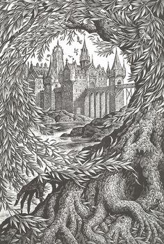 Naslovnice Harry Potter knjiga nastale drvenom gravurom | Dizajn svaki dan