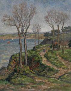 Ernest Pothier DE CHAMAILLARD - Falaises de Douarnenez