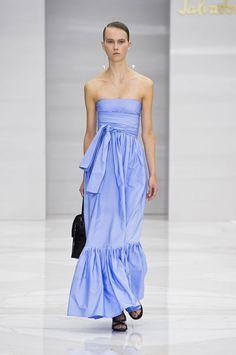 Modne sukienki [wiosna-lato 2016], Salvatore Ferragamo, fot. Imaxtree