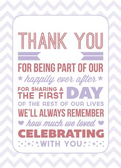 20 best in memory of images on pinterest wedding thank you wording