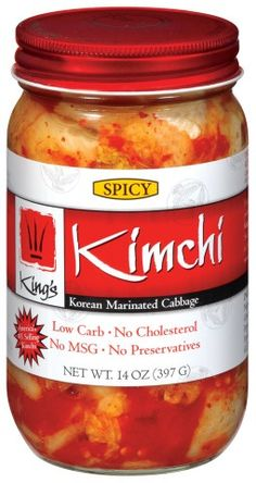 My favorite store bought Kimchi.