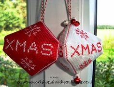 Creative Workshops from Hetti: Kerstbal / Xmas Bauble