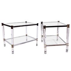 Pair of Luxor Side Tables