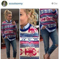 @scoutsonny I am loving the @Danielle Lampert Johnston vines sweater! Congrats #bettersweaterer Web Instagram User » Followgram