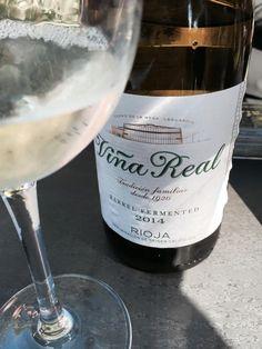 El Alma del Vino.: CVNE Viña Real Blanco Fermentado en Barrica 2014.
