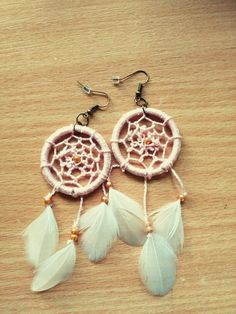 Handmade earnings. Dreamchatcher