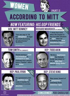 Women According to Republicans  --- don't know whether to pin to Politics board or The Creepy Board!