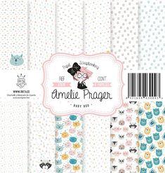 SET DE PAPELES BABY BOO AMELIE Amelie, Scrap, Bullet Journal, Paper Envelopes, Amelia