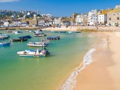 View top-quality stock photos of St Ives Cornwall England Uk. Find premium, high-resolution stock photography at Getty Images. Places To Travel, Places To See, St Just, Holidays In Cornwall, Adventure Holiday, Adventure Travel, Photos Du, Beautiful Beaches, Great Britain