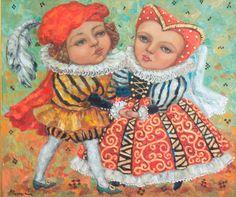 artist Kallistova Elena, Romeo and Juliet
