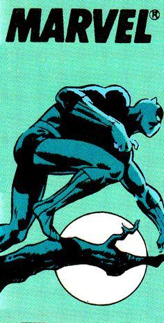 Black Panther Corner Box Black Panther Vol. 2 #4 (October 1988) By Denys Cowan
