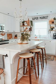 Top Home Design 80 Dream Kitchen Models That Look Luxurious For Your Kitchen Decoration Inspiration 16 Home Design, Küchen Design, Design Ideas, Design Homes, Chair Design, Design Elements, Design Trends, Home Interior, Interior Design