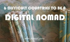When it comes to being a digital nomad. Some countries are definitely more challenging than others. Here are 6 difficult countries to be a digital nomad...