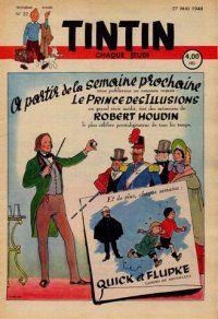 Journal de TINTIN édition Belge N° 22 du 27 Mai 1948