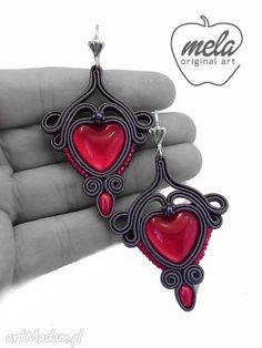 • niesztampowe kolczyki, biżuteria - kolczyki sutasz vinion