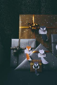 Les étiquettes Fox Family pour personnaliser ses paquets