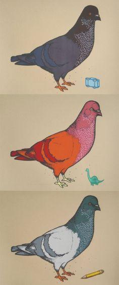 Hope you broskis like pigeons, cos I sure do.