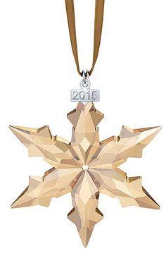 Swarovski SCS Annual Edition 2015 Christmas Star Ornament
