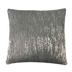 Orla By Kylie Minogue Filled Cushion, Silver