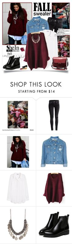 """New Shein Contest!"" by annabu ❤ liked on Polyvore featuring H&M, Topshop, Chanel, Marni and Kate Spade"