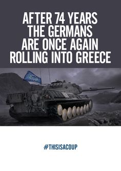 Greece under attack