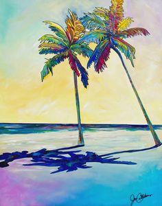 """""Lazy Days"""" Original Hand Painting by Jen Callahan"