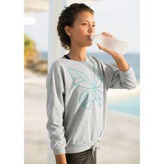 Sweatshirt Sport   grau meliert (248)   Farbe Bekleidung/Hartware   FIT-Z Online Shop   FIT-Z - best for teens