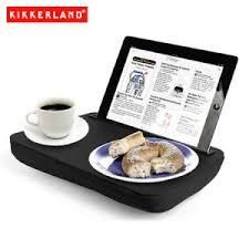 Use your tablet in bed, on the couch or on a plane all while you eat and more with the Kikkerland iBed Lap Desk in black. Great for students, travelers or anyone with a tablet computer. - Kikkerland iBed Lap Desk for iPads and Tablets - Black Cool Gifts, Unique Gifts, Best Gifts, Guy Gifts, Support Ipad, Design3000, Lap Desk, Tablet Stand, Ipad Stand