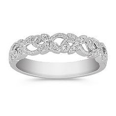 I absolutely LOVE this! Wish I could have it for my 1yr Anniversary on Sunday!!!  Round Diamond Anniversary Band