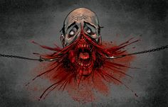 horror art - Buscar con Google